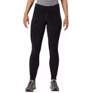 COLUMBIA WOMEN'S GLACIAL FLEECE PRINT LEGGINGS-XL